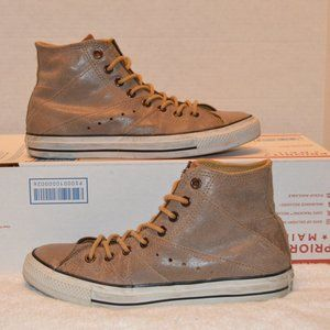 Chuck Taylor All-Star Motorcycle leather high tops